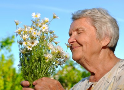happy older person
