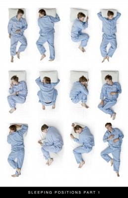 The position you sleep in affects your sleep, sleep positions can contribute to your quality of rest