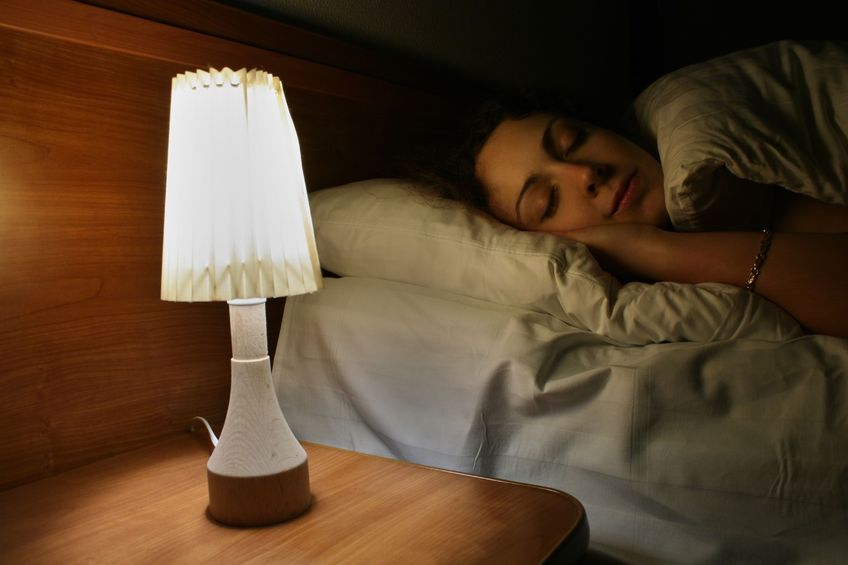 Study: Light in Bedrooms Linked to Obesity