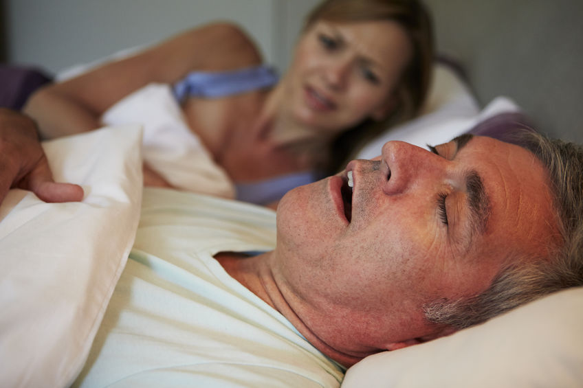 Snoring and Sleep Apnea Linked to Earlier Cognitive Decline