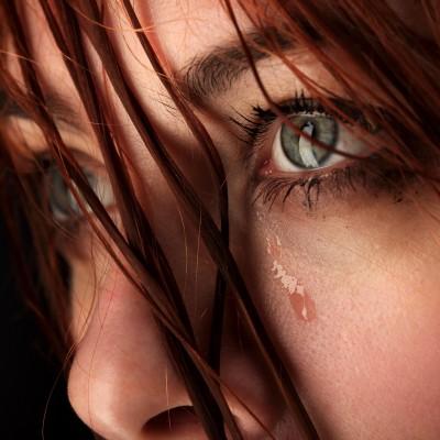 sad woman emotional